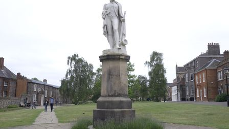 Consideration is to be given to the context and interpretation of the Nelson statue at Norwich Cathe