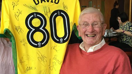 David Smith was a passionate Norwich City supporter, attending most home games including the famous