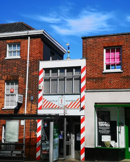 Castle Barbershop in Norwich is planning to reopen on July 4. Picture: Castle Barbershop