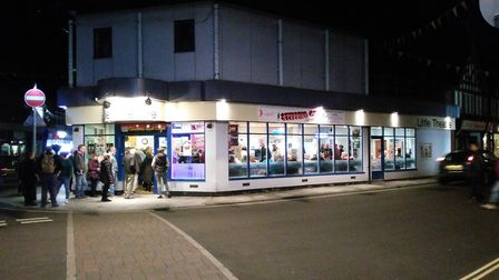 Sheringham Little Theatre on the opening night of Stepping Out. Picture: Chris Sadler
