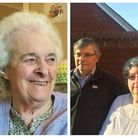 Doreen Livermore (l) died at Amberley Hall Care Home in King's Lynn after she was attacked. Her chil