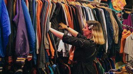 Slow Fashion Season is encouraging people to make more sustainable fashion choices by buying vintage