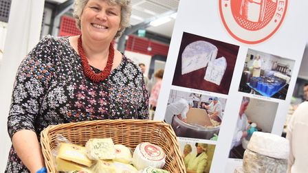 North Norfolk cheesemaker Catherine Temple.Picture: Sonya Duncan