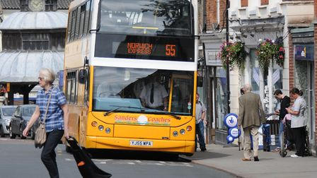 Sanders Coaches have announced they are introducing 'change vouchers'. Picture: Archant