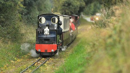 The Wells and Walsingham Light Railway hopes to reopen on July 4 Picture: Ian Burt