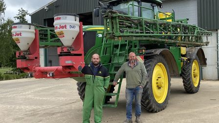 Wisbech farmers Andrew Melton (right) and his son Sam are East Anglia's newest additions to the AHDB