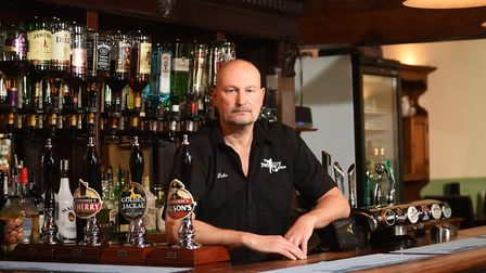 Jason Bumphrey is also a partner at the Foundry Arms. Picture: ANTONY KELLY