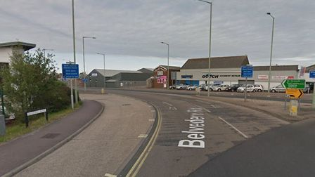 A man and a woman were arrested by police on suspicion of drug offences after a vehicle was stopped