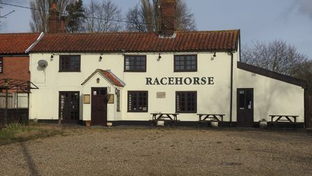 The Racehorse Community Pub in Westhall.