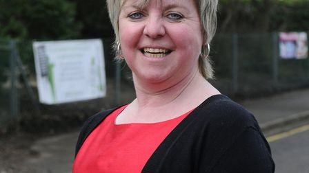 Headteacher Sarah Shirras at St William's Primary School in Thorpe St Andrew. Picture: Archant