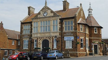 The tourist information centre in Hunstanton Town Hall was closed in March, when the coronavirus loc
