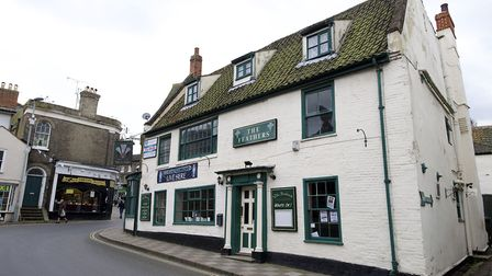 The Feathers Pub in North Walsham.Picture: MARK BULLIMORE
