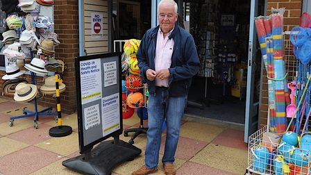 Paul Beal has run World of Fun at Hunstanton for 42 years Picture: Chris Bishop