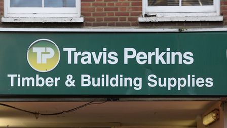 Travis Perkins, which also owns Toolstation and Wickes, said sales were down 40% in May. Picture: Ki