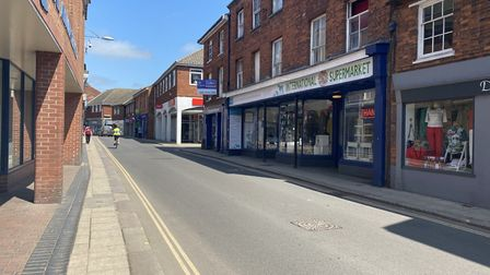 Businesses in Dereham flung open their doors to eager shoppers for the first time since lockdown beg