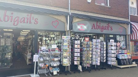 Abigail's Card and Gift Shop in Nelson Place opened for the first time since lockdown was brought in