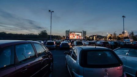 Drive-in cinema nights are coming to the Norfolk Showground this summer Picture: Robert Powell/Music