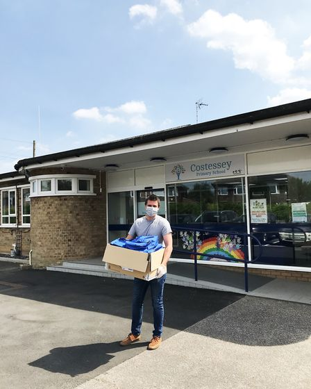 Delivery for Costessey Primary School Picture: One Bag Company