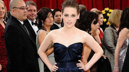 Kristen Stewart who will play Diana, Princess of Wales, in a new drama set at Sandringhm Picture: Ia