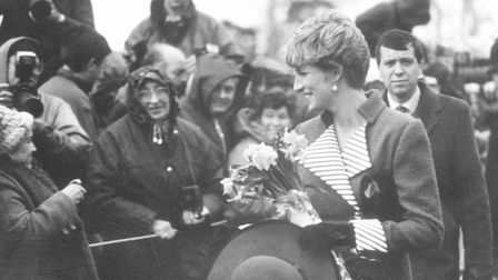 Diana soon became a favourite with the crowds at Sandringham Picture: Archant