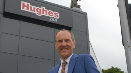 Robert Hughes, managing director of Hughes Electrical. Picture: Hughes Electrical