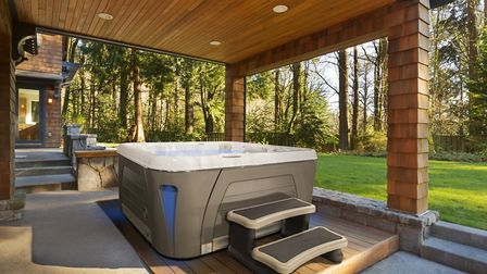 Hydropools can be used year-round and come with a range of high-tech features. Picture: Hydropool No