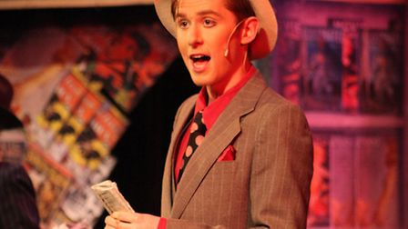 DOSYTCo's production of Guys & Dolls, April 2014. Pics by Gordon Olley.