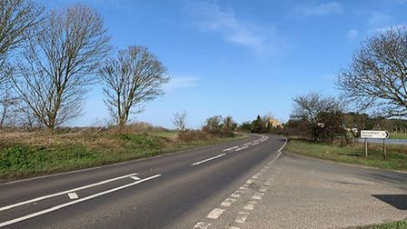 New 50mph speed limits are being installed on the A134, including on the section of road near Should
