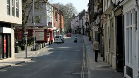 St Benedicts Street in Norwich. Picture: Simon Parkin
