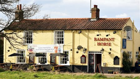 Rampant Horse in Freethorpe.Paul and Tracey Crisp.Pub of the Week.Picture: James Bass