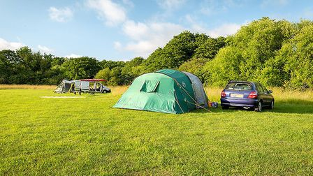 The owners of Canal Camping, Dilham, say they have been inundated with bookings. Pic: Canal Camping
