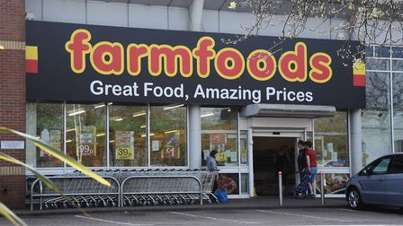 Farm Foods in Westwick Street, Norwich, where there was an armed robbery. Picture: DENISE BRADLEY