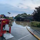 Firefighters were called out to 25 flooding incidents across west Norfolk Picture: Norfolk Fire and
