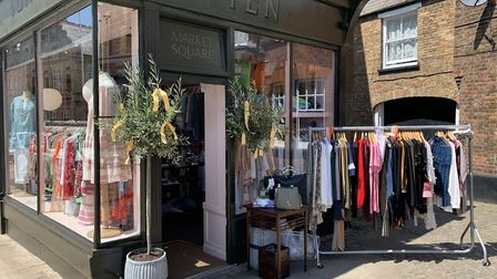 Ten Market Square, an independent women's clothing and accessories shop. reopened on Monday, June 15