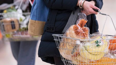 Low inflation is hiding steep rises in weekly shopping bills for households. Picture: PA Images
