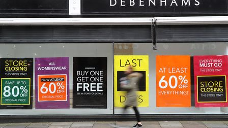 Clothes and footwear have seen falling prices but some reopening high street retailers like Debenham