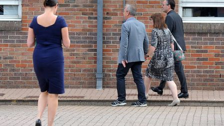 Tim Bash arriving at Norwich Crown Court on a previous occasion. Picture: Archant