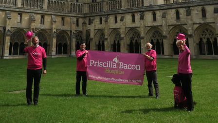 Pink Priscilla Day at Norwich Cathedral. Picture: Norwich Cathedral