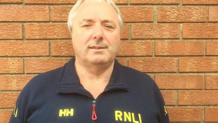 Paul Watling is the new coxswain at RNLI Cromer. Pictures: RNLI