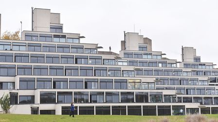 The University of East Anglia Campus. Pictures: BRITTANY WOODMAN