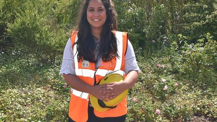 Fiona Keenaghan, North Norfolk District Council's assistant coastal engineer. Picture: Supplied by F