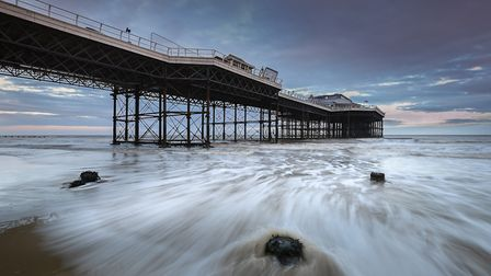 Cromer Pier, which Fiona Keenaghan has worked on as part of her role as North Norfolk District Counc