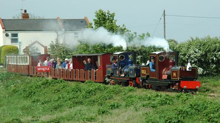 Social distancing measures will be in force when trains resume running on the Wells and Walsingham L