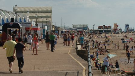 Prime Minister encourages people to take staycations in Hunstanton. Picture: Chris Bishop