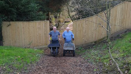 Scole Nature Trails Trust is asking for the public's support in its bid to earn a £3,000 grant. Pict