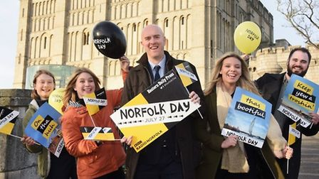 The launch of Norfolk Day 2019. Picture: Archant