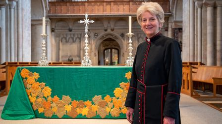 The very reverend Jane Hedges, Dean of Norwich. Photograph: Norwich Cathedral/Bill Smith