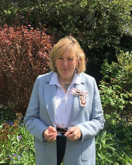 Lady Dannatt MBE, the Lord-Lieutenant of Norfolk. Photo: Submitted