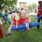 Joy for children with the reopening of play areas in the region. PHOTO: RUSSELL PLAY