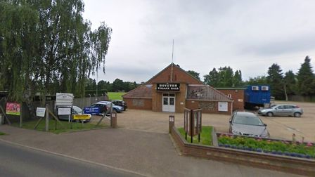 The event will take place in the playing field behind Hoveton Village Hall Picture: Google Maps